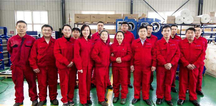 瑞普特板式/板壳式换热器厂家的团队
