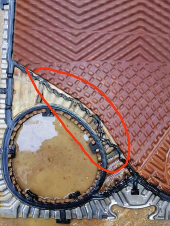 瑞普特板式热交换器密封垫案例