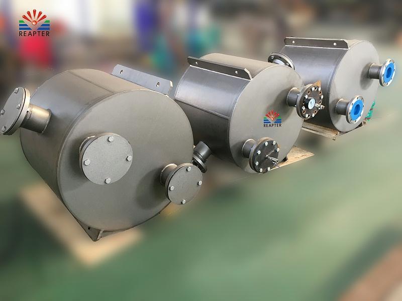 青岛瑞普特生产望亭发电厂板壳式换热器