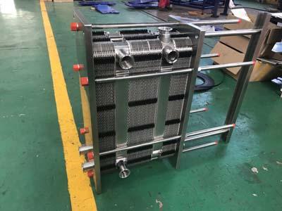 板式杀菌机配套板式换热器