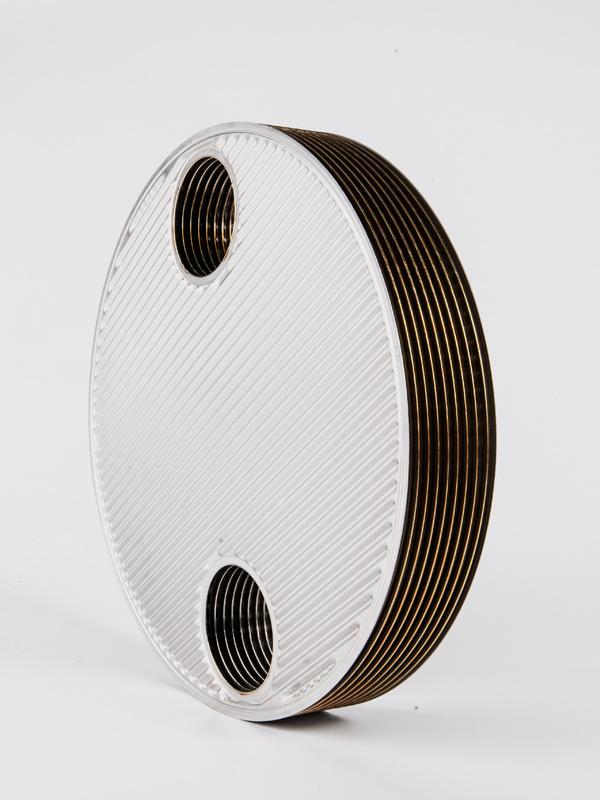 瑞普特板壳式换热器板束