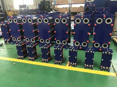 工业板式换热器