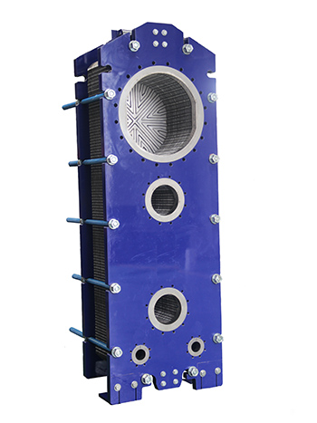 瑞普特半焊式板式冷凝器