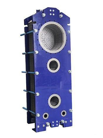 半焊式板式冷凝器