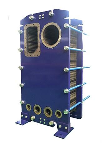 半焊式板式蒸发器