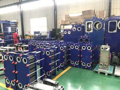 工厂板式换热器,吊装安全需注意