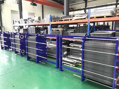 板式换热器配套行业的领域及优势