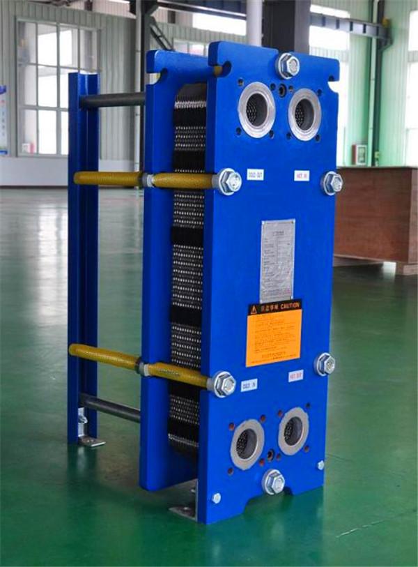 船用板式换热器的构造和特点
