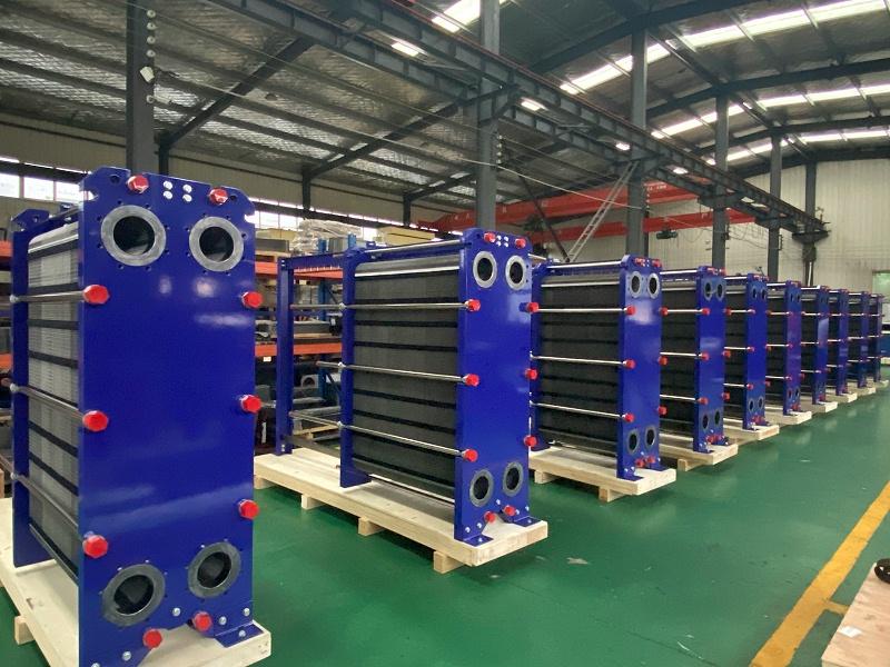 余热回收板式换热器