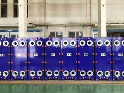 一台质量好的造纸厂废水处理余热回收板式换热器对企业的好处不止一种