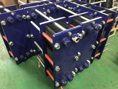 化工行业板式换热器