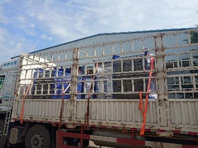 大口径水水板式换热器两台,国庆节前率先发货!