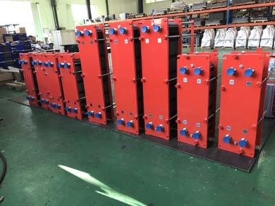 板式换热器焊接工艺