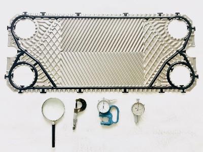 可拆式板式换热器橡胶密封垫老化替换流程如下