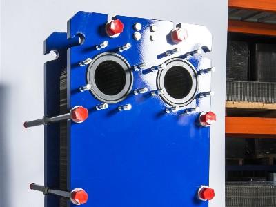 养护板式换热器的方法